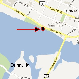 Dunnville map