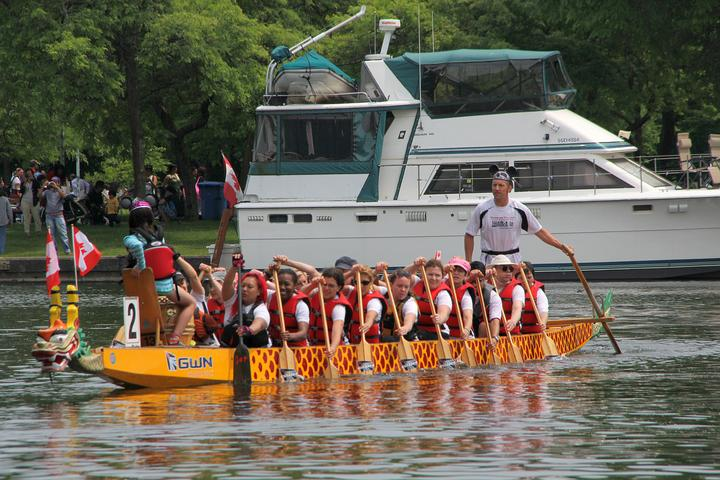 Harbord Village team from 2013 Canada Day Regatta